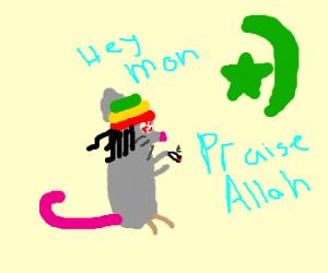 Rastamouse converts to Islam