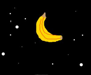 Drawception's moon is a banana
