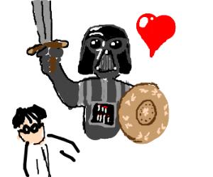 gladiator vader loves luke potter