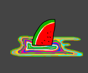 Watermelon on acid...