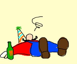 Super Drunk Mario Bros. New Year