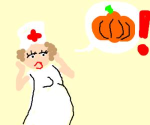 Nurse need more pumpkins!