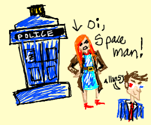 Doctor who's red-headed companion