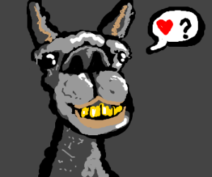 llama only wants your love <3
