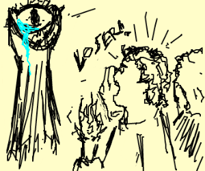 boys with torches make sauron cry D: