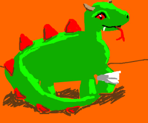 Dragon with a limp