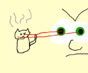Eyeball lasers!