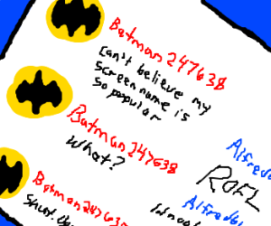 Batman really does not like internet lingo