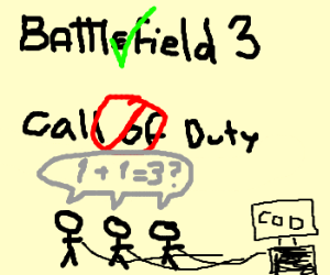 BF3 is better than COD, cod players are stupid