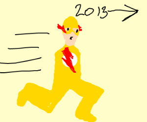 armless reverse flash traveling to 2013