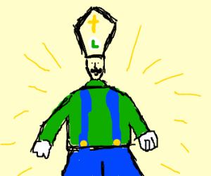 A new pope is chosen....: Luigi