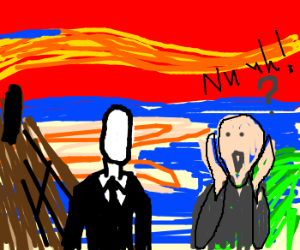 "slenderman can't replace ""the scream"""