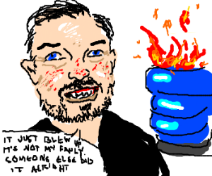 Ricky Gervais is a human disaster