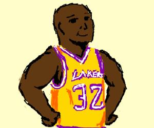 "Sports shirt ""Lakers 32"""