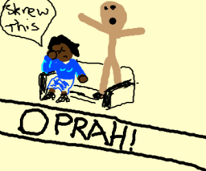 Oprah doesnt care anymore