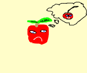 Apple wants to be a cherry