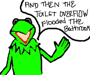 Kermit the Frog has a potty mouth!