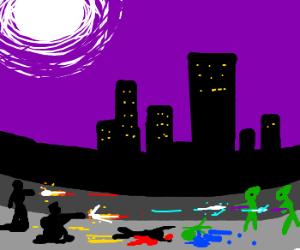 Underground Mafia/Extraterrestrial War.