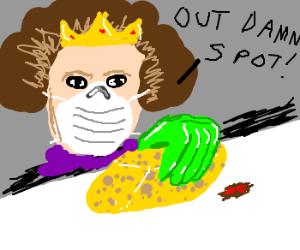 Lady Macbeth: clean freak