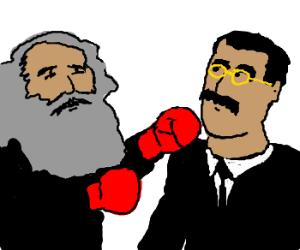 Groucho Marx vs Karl Marx
