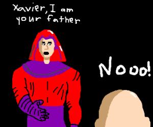Darth Magneto is Xavier's father! Noooo!!!