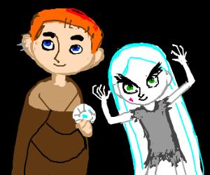 Brendan & Aisling from The Secret of Kells.