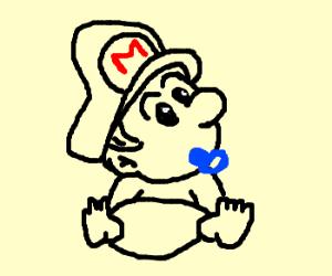 Mario won't grow up