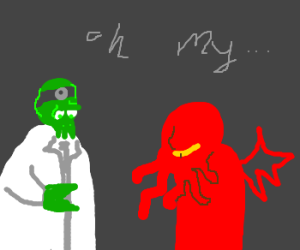 green zoidbergs and red cthulhus oh my