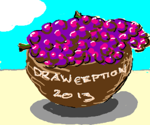 Drawception 2013 is full of grapes!