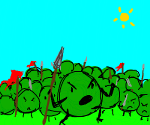 Army of Peas