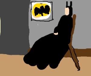 Whistler's mother.. is batman