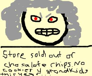 Grandma is angrehhh! D:<