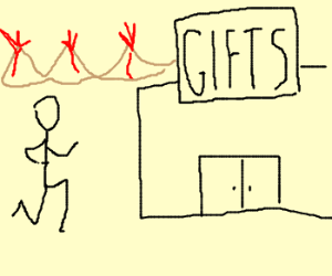 One does not simply walk into Mordors Giftshop