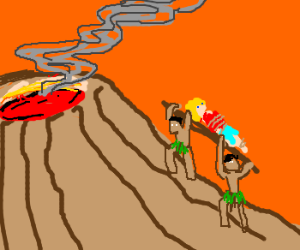 Volcanocalypse ! (don't forget your gifts)