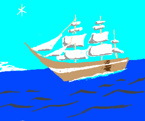 a tall ship & a star to steer her by