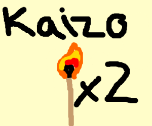 Kaizo strikes again