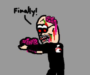 Steve Jobs is a Zombie, Finally has a brain.