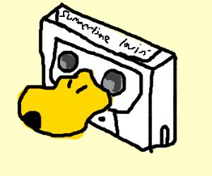 A Duck Cassette Tape