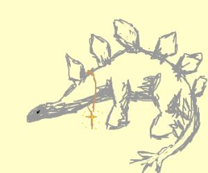 Stegosaurus converts to Christianity