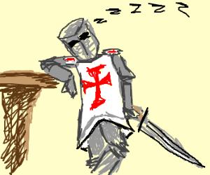 Sleepy Templar is sleepy.