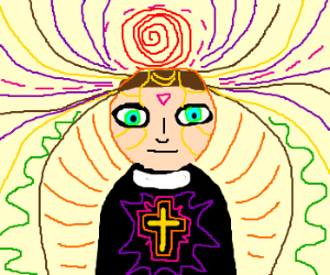 psychedelic priest wants your soul