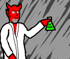 Even the devil likes trying science
