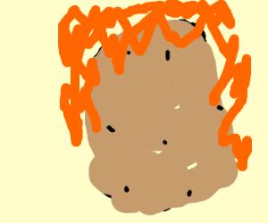 POTATO ON FIRE!
