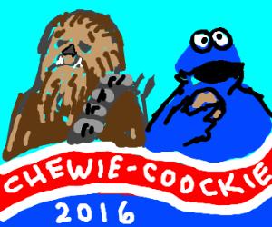 chewbacca runs for prez, cookie monster VP