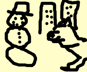 Frosty and Balto take Manhattan!