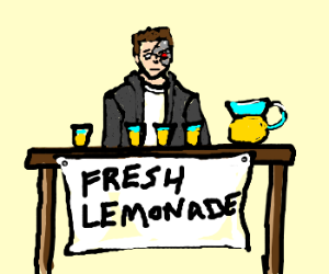 Terminator offers his juices