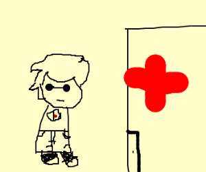 Dave goes to the hospital