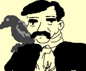 Just Edgar Allen Poe being badass