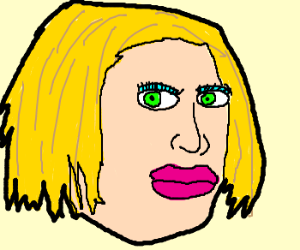 A skeezy looki--I think that's Courtney Love