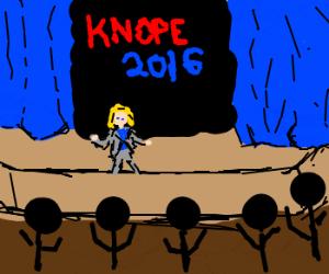 Leslie Knope: 2016!